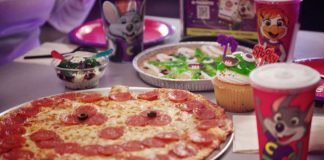 Chuck E. Cheese Brings Back Pumpkin Pepperoni Pizza As Part Of New Monster Menu Lineup