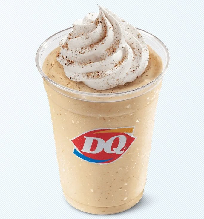 Dairy Queen Brings Back Pumpkin Cookie Butter Shake For Fall 2021