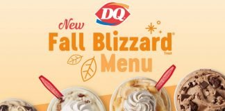 Dairy Queen Offers New Sea Salt Toffee Fudge Blizzard, Pecan Pie Blizzard And Pumpkin Pie Blizzard As Part Of 2021 Fall Blizzard Treat Menu