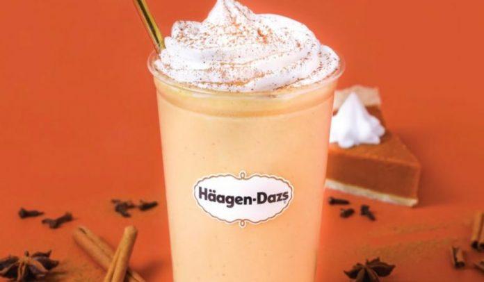 Häagen-Dazs Serves Up New Pumpkin Spice Shake