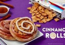 Krispy Kreme Reveals New Original Glazed Cinnamon Rolls And Cinnamon Toast Crunch Cinnamon Rolls