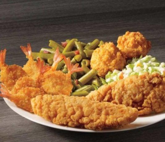 New Chicken & Shrimp Meal And Blackened Tilapia & Shrimp Skewer Meal Arrive At Captain D's