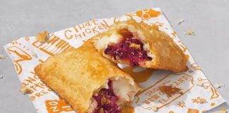 Popeyes Adds New Blackberry Cheese Cake Fried Pie