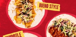 Taco Bueno Welcomes Back Kickin' Fried Chicken Tacos In 3 Saucy Flavors