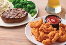 Applebee's Welcomes Back $1 Dozen Double Crunch Shrimp Deal With Any Steak Entree Purchase