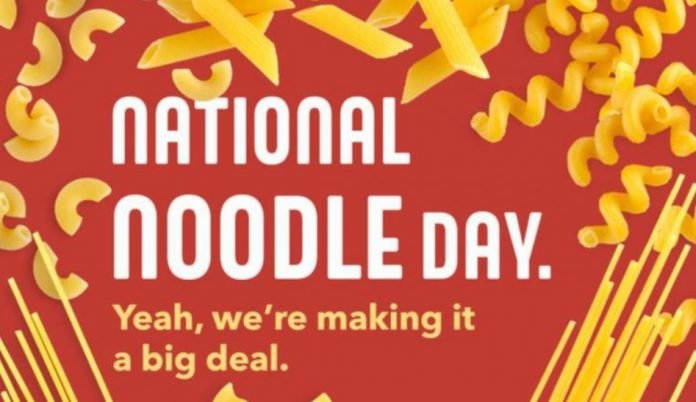 Noodles & Company Rewards Members Get 20% Discount On National Noodles Day