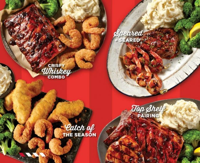 TGI Fridays Debuts New Catch Of The Season And Top Shelf Pairing Dishes As Part Of New Double Combo Entrées Lineup