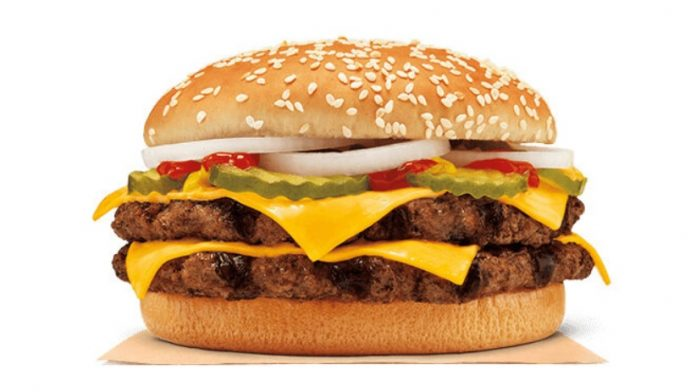 The Double Quarter Pound King Is Back At Burger King