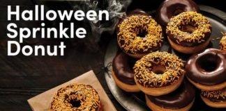 Tim Hortons Unveils New Halloween Sprinkle Donut